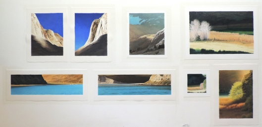 Marin artists Kathleen Lipinski & Steve Emery will show paintings of Mt. Tamalpais, Point Reyes, Marin & the Sierra as well as lyrical work.